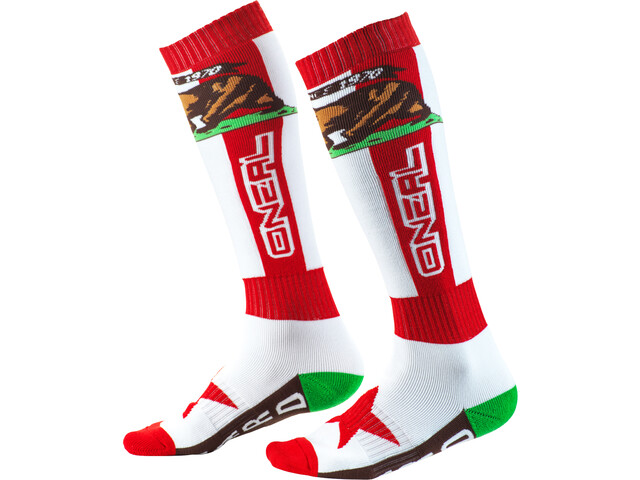 O'Neal Pro MX Socks california-red/white/brown